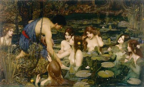 Waterhouse Nymphs
